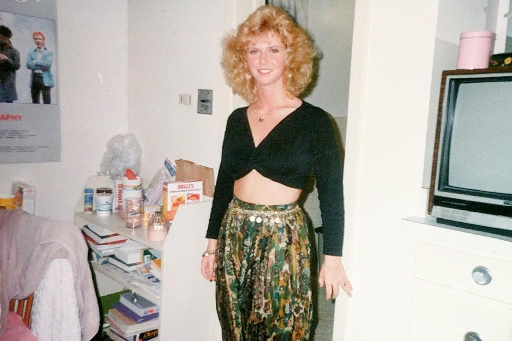Desiree in 1990 at 147 pounds1